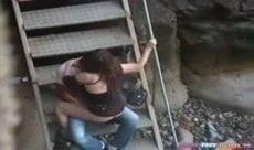 Flagra de sexo entre namorados fodendo depois da escola