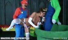 Mario Bross porno putaria e muito sexo