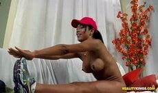 Rebecca a carioca peituda que adora rola