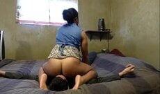 Filme de sexo com a esposa sentando na cara do amante